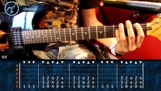 "Cómo tocar ""Symphony of Destruction"" de Megadeth en Guitarra (HD) Tutorial - Christianvib"