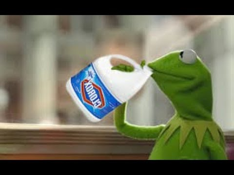 Kermit Drinks Bleach (meme) - YouTubeKermit Drinking Bleach