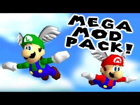 New Luigi Model For Sm64m Smsrm Multiplayer Mega Mod Pack