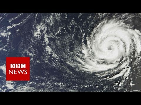 Hurricane Ophelia: Latest satellite pictures - BBC News