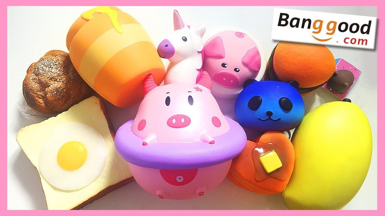 Squishy Toys Greece : MOST ADORABLE SQUISHIES!!! Banggood #16 Doovi