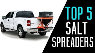 Best Salt Spreaders 2018 - Best Salt Spreaders for Trucks