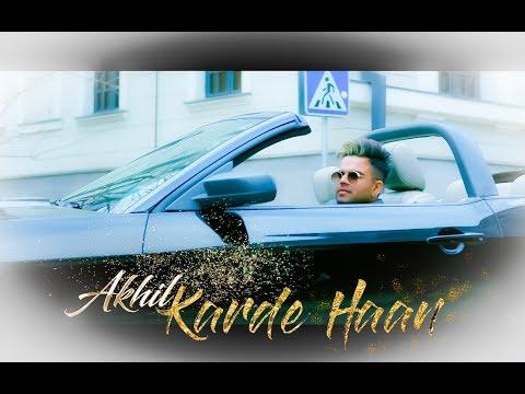 Karde Haan | Akhil | Manni Sandhu | Crown Records & Collab  Creation | New Punjabi Song 2019