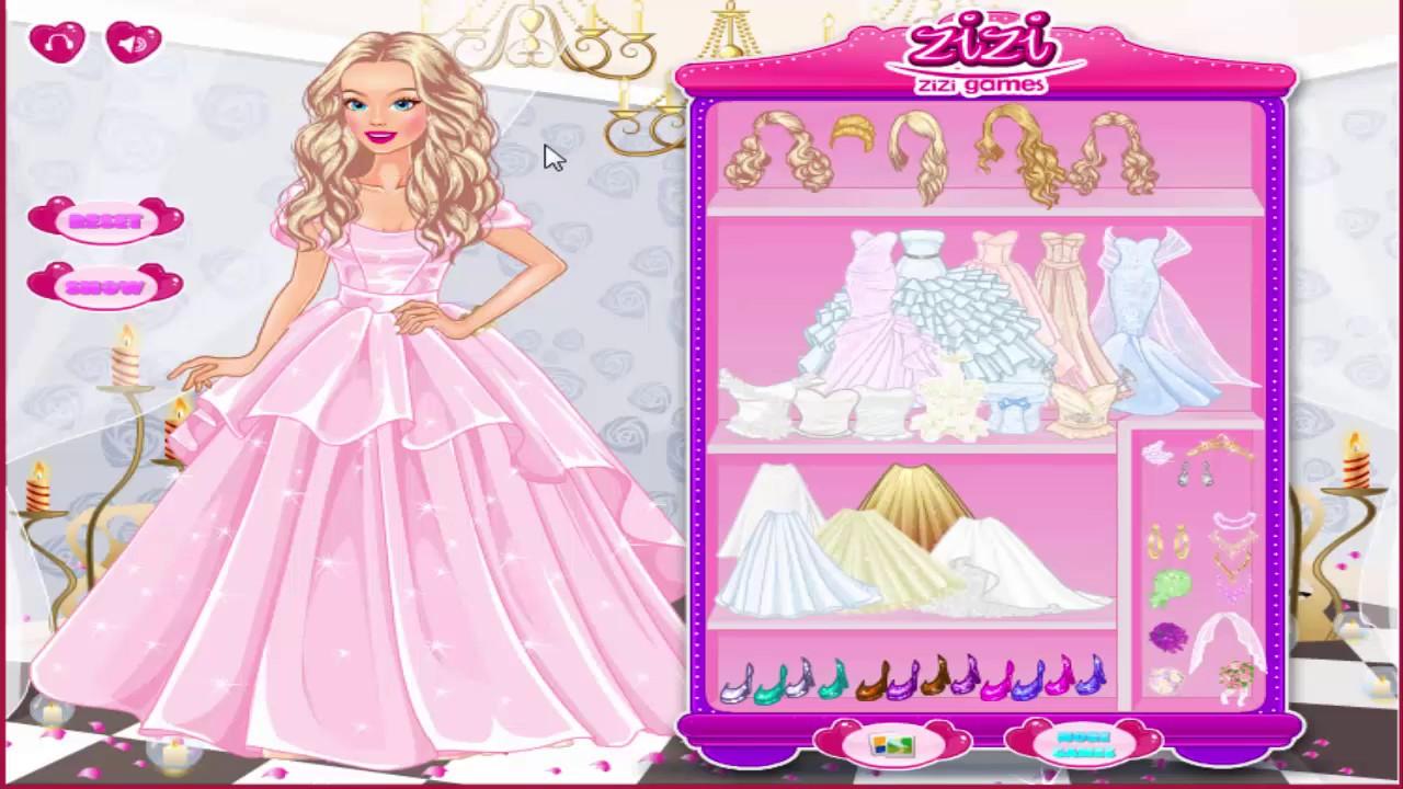 Disney Princess Wedding Dress Games Dresses