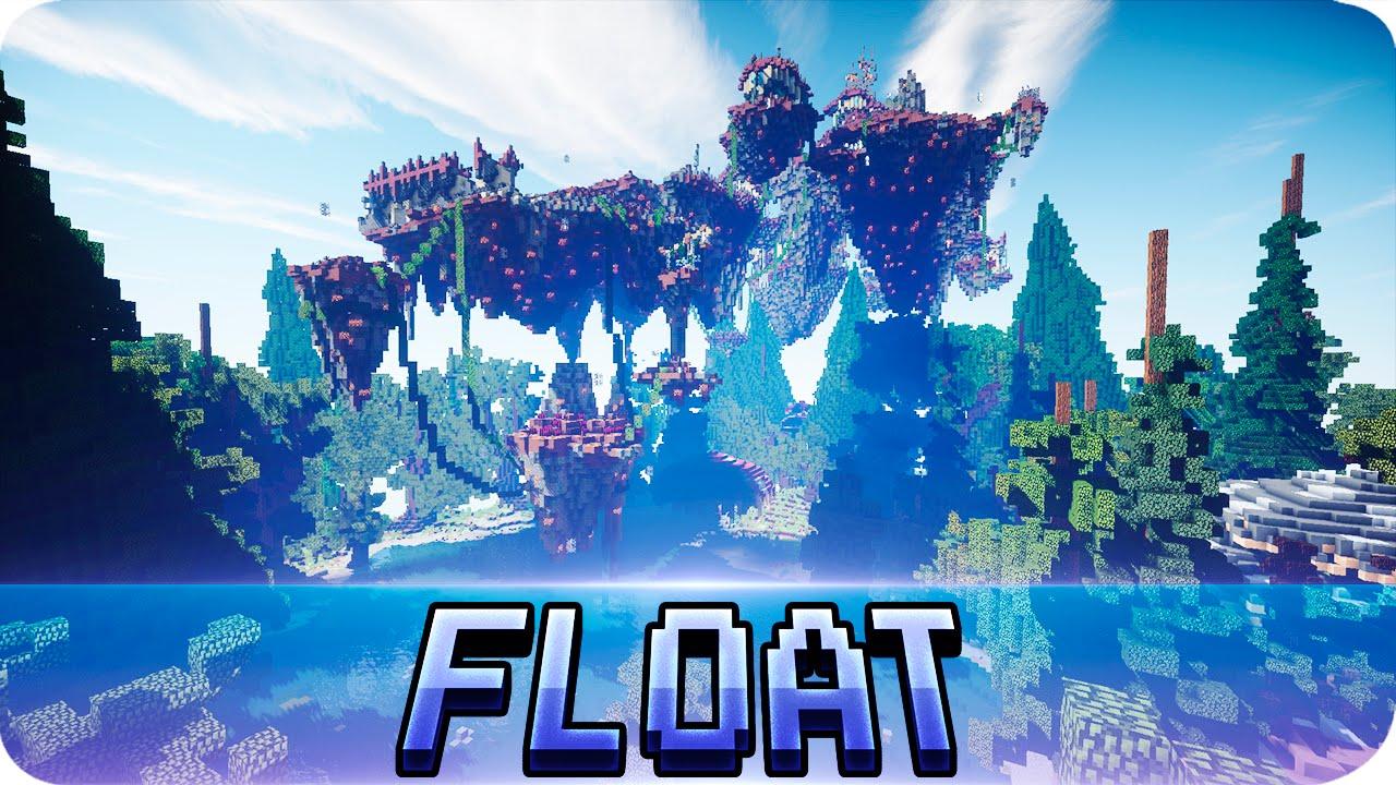 Minecraft Float Away Custom Terrain Map W Download