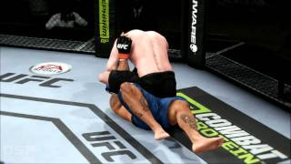 EA Sports UFC Career Mode pt32: Back to the Bottom...