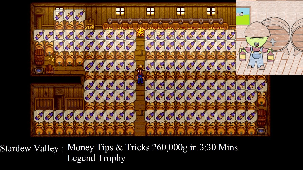Quick Easy Gold And Legend Trophy Video Stardew Valley Playstationtrophies Org After you get the tea leaves you simply brew it in the keg to make tea. stardew valley playstationtrophies org