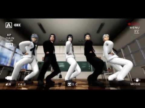 [MMD NARUTO] Sentai Slender Legs 【Tobirama,Itachi,Sasuke,Shisui And Kabuto】