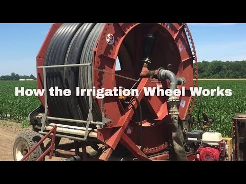How An Irrigation Wheel Works