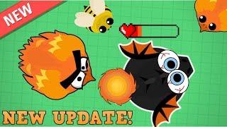 Mope.io NEW PHOENIX ANIMAL KILLS BLACK DRAGON!!! NEW OP PHOENIX ANIMAL! (Mope.io Beta Update!)