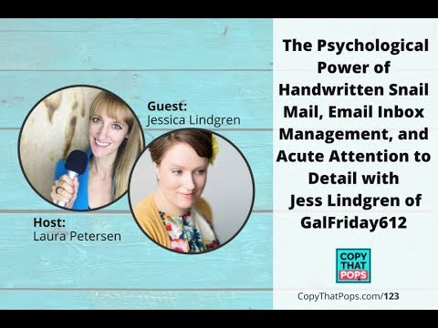 123: The Psychological Power of Handwritten Snail Mail, Email Inbox Management, and Acute...