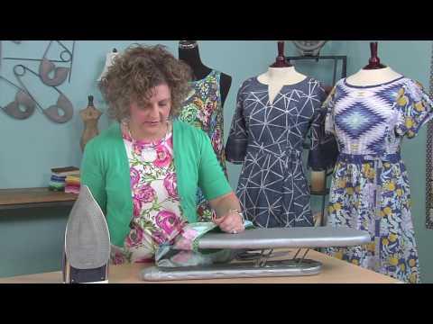 Kay Whitt: how to finish necklines & armhole edges with bias trim on It's Sew Easy (1213-1) thumbnail