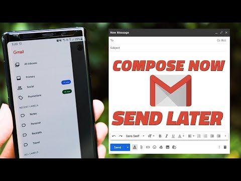 How to Schedule Emails With Gmail's New Feature on Android, iOS, and the Web thumbnail