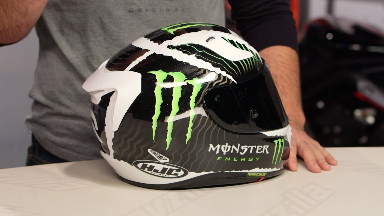 be7d203493f8e HJC RPHA 11 Pro Monster Military Helmet Review at RevZilla.com - YouTube