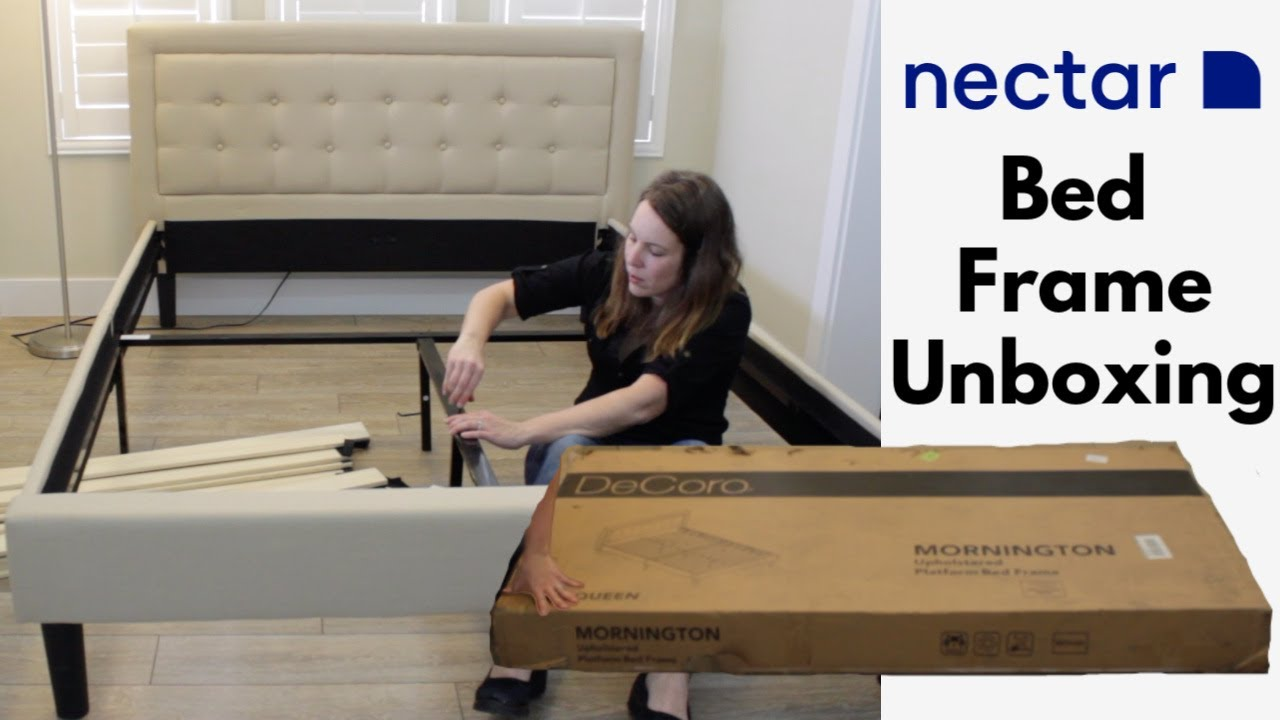 Nectar Platform Bed Frame Unboxing How Long Did It Take Youtube