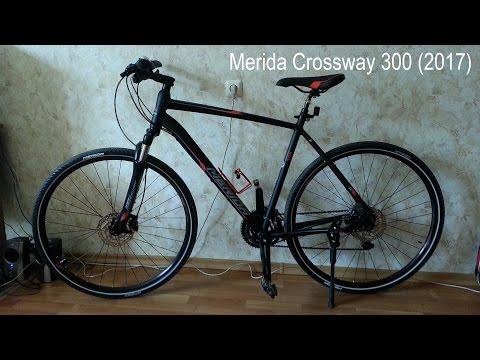 Мини обзор гибридного велосипеда Merida Crossway 300 (2017)