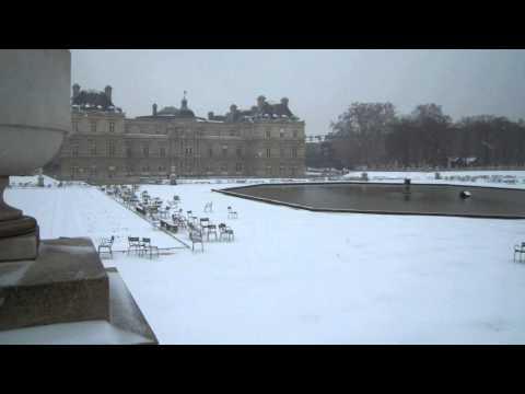 Париж - Панорама люксембургский сад