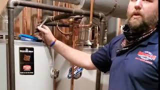 Duel hot water heaters