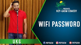 Wifi Password | Nepali Stand-Up Comedy | UKG | Nep-Gasm Comedy