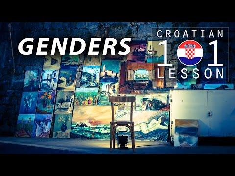 009 / GENDERS - Croatian101Lesson
