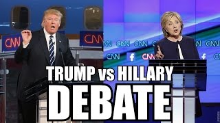 What to Expect From Trump vs. Hillary Debate On Sept 26 - PREDICTION: Most Likely Trump Victory