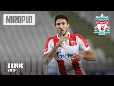 MARKO GRUJIC ✭ LIVERPOOL ✭ THE SERBIAN SUPER TALENT |Skills & Goals| 2016