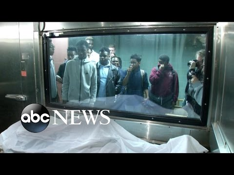 Students Visit Morgue to Learn About Gun Violence