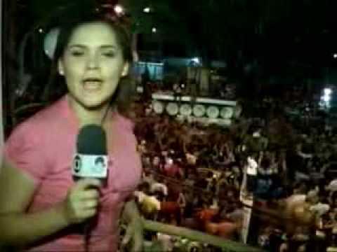 Chegada Do Pau Da Bandeira / TV Verdes Mares Cariri