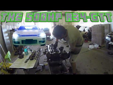 500 hp R34 SKYLINE