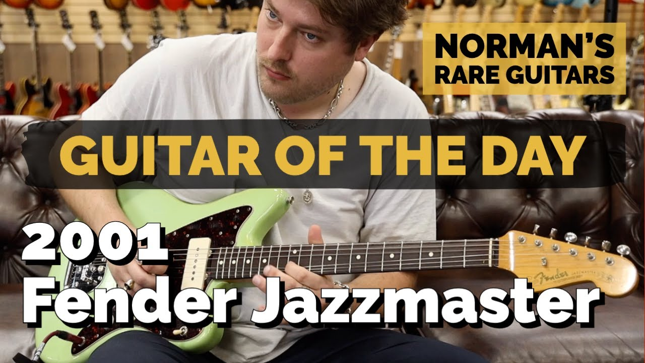 Guitar of the Day: 2001 Fender Jazzmaster Owned by Lemmo   Norman's Rare Guitars