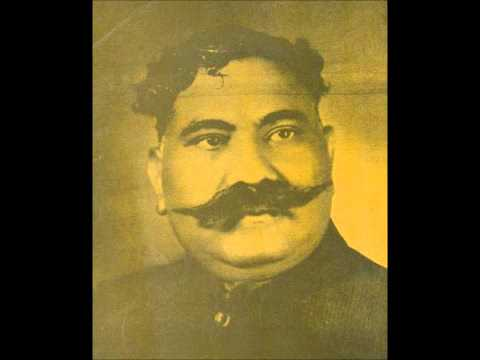 Ustad Bade Ghulam Ali Khan- Raag Ragishri- Original Recording For Mughal Azam Film