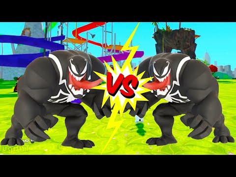 Битва Венома Мультик игра для детей Тачки Машинки в сказочном мире Дисней Venom & Disney cars