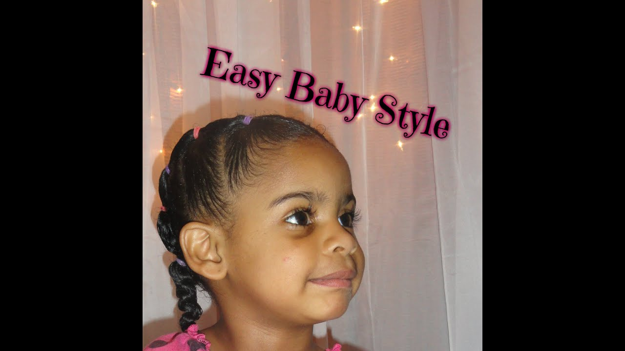 how to style baby hair 178 baby hair care easy ponytail style 2368