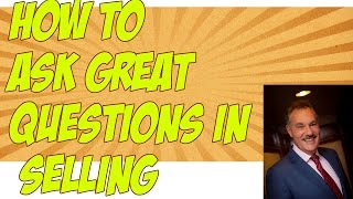 How to ask great questions in selling | Sales & Marketing Speaker | Frank Furness