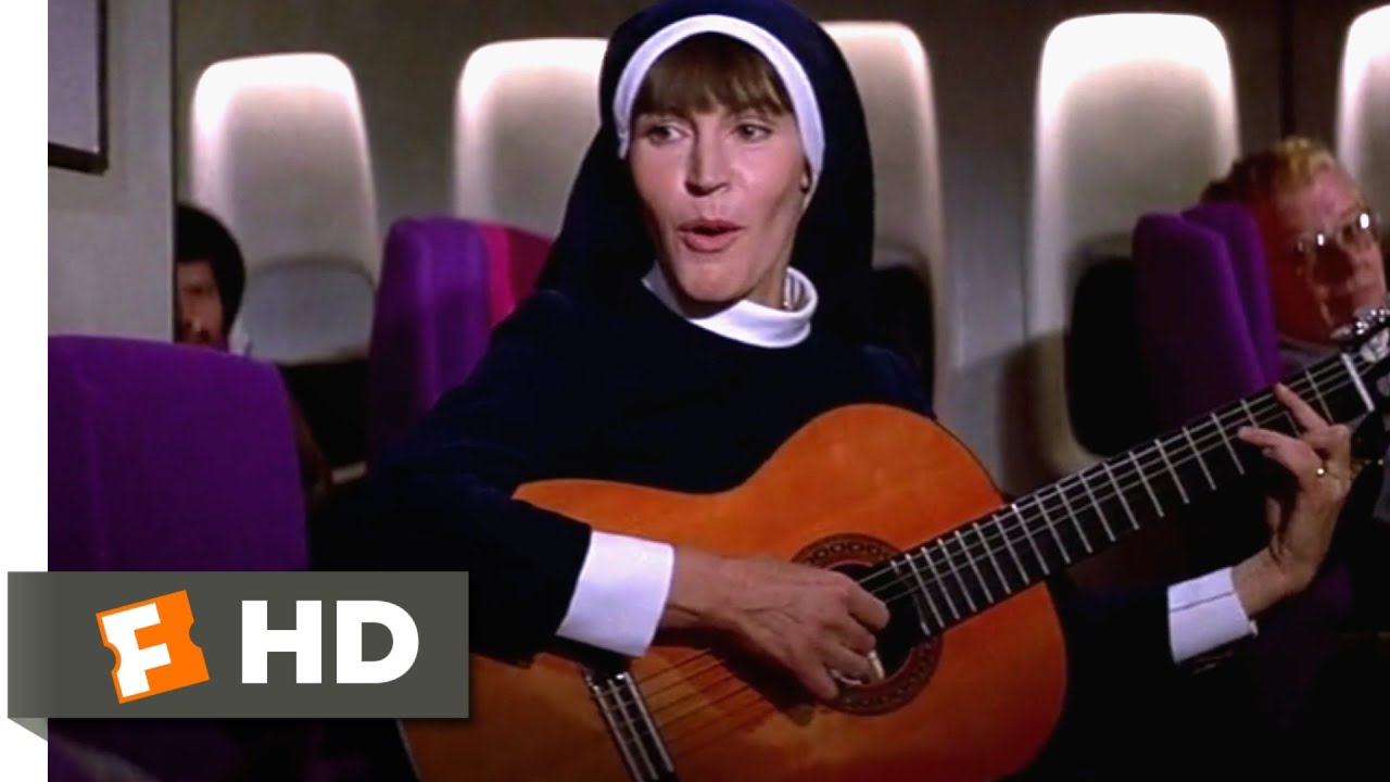 Airport (1975) - Singing Nun Scene (1/10) | Movieclips