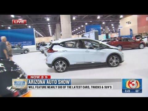 The Arizona Auto Show Takes Over The Phoenix Convention Center Part - Car show phoenix convention center