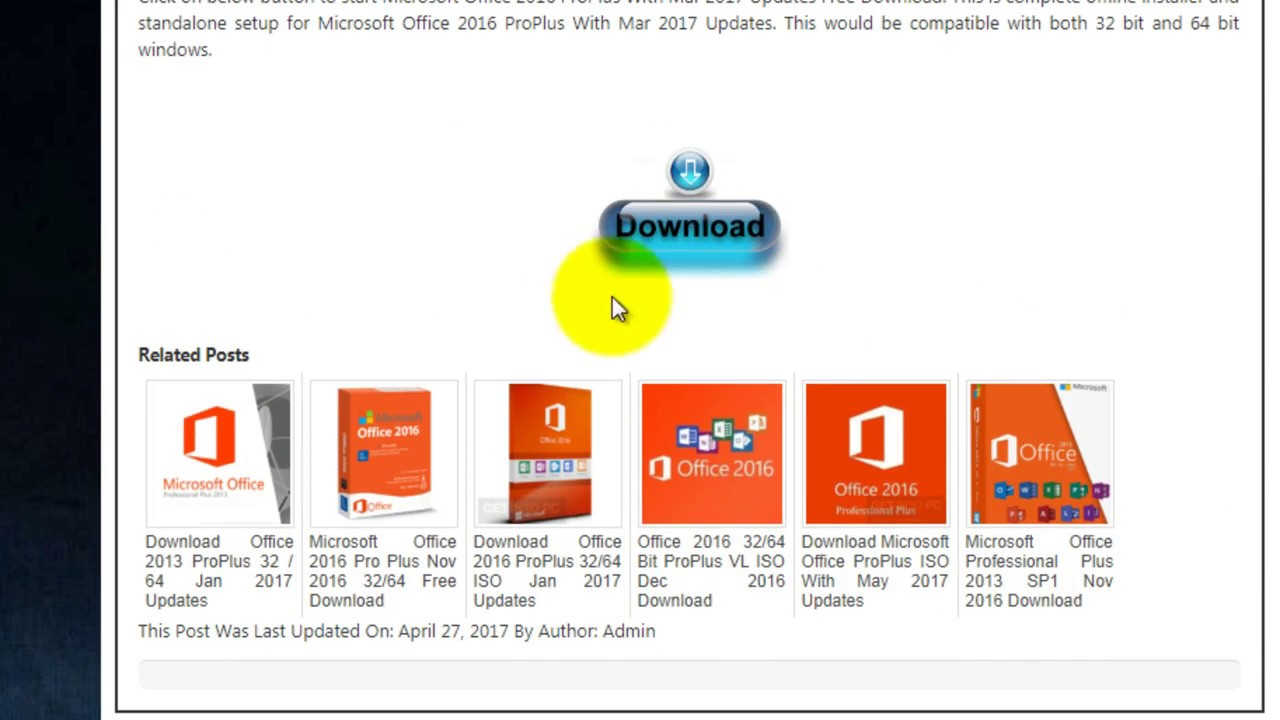 download microsoft office 2016 64 bit setup