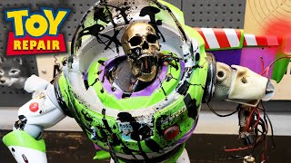Restoration of Buzz Lightyear 2020 Toy Story Repair
