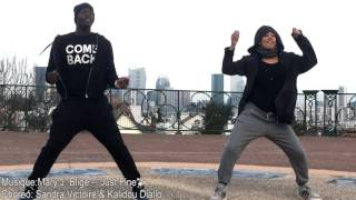"Mary J Blige  ""JUST FINE"" / Zumba® choreo by Sandra/Kalidou"