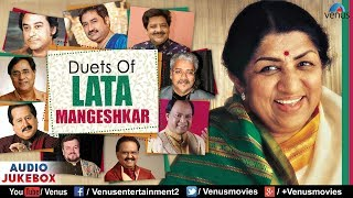 Duets Of Lata Mangeshkar |  Best Evergreen Romantic Songs | JUKEBOX | 90's Bollywood Love Songs