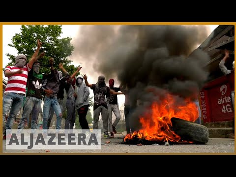 Kashmir civilian protester crushed by military vehicle | Al Jazeera English