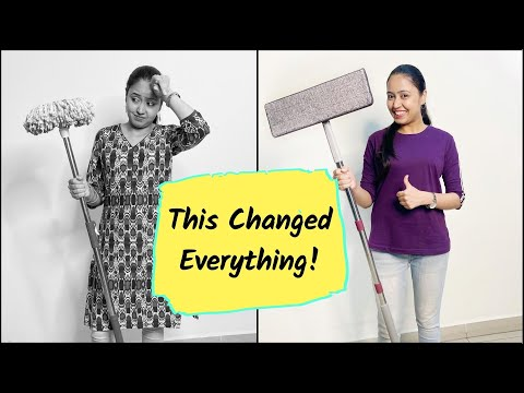 the-ultimate-mop-you-always-needed-|-best-mop-in-india-|-home-cleaning-tips-|-spin-mop-vs-flat-mop
