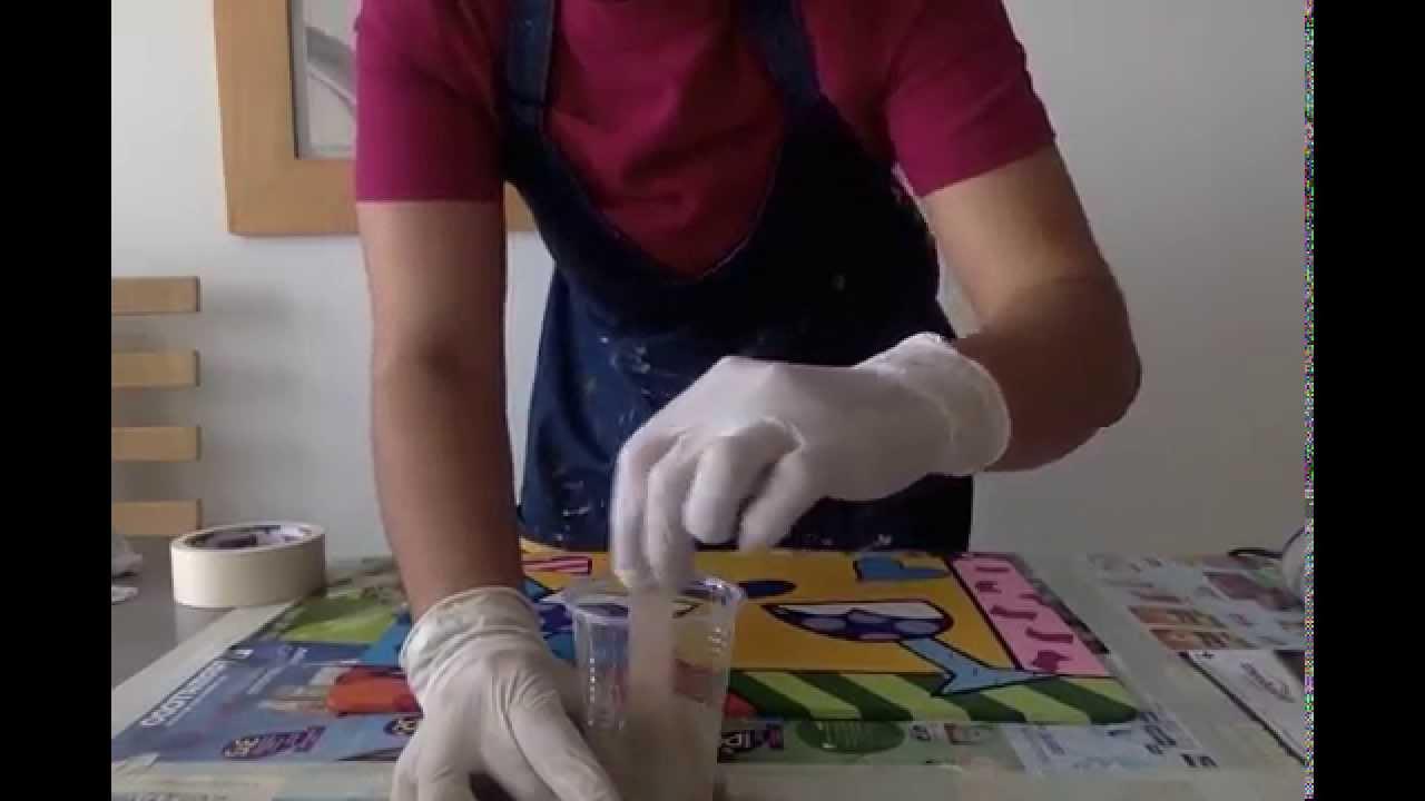 Taller de aplicaci n de resina en proyecto de madera - Pintar marcos de cuadros ...
