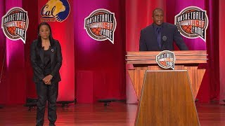 Ora Washington's Basketball Hall of Fame Enshrinement Speech
