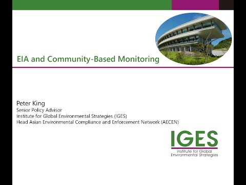 1st MPE Webinar Series Session on Community Participation in EIA/EMMP Monitoring