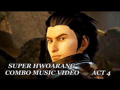 Tekken 7 Fr Super Hwoarang Combo Music Video Act 4 Youtube