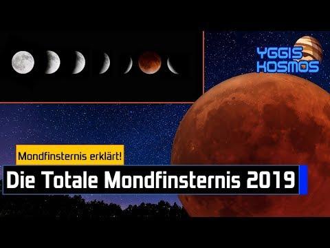 Die Totale Mondfinsternis Am 21. Januar 2019: Das Warum, Wann, Wo Und Wie! (Blutmond) [Yggis Kosmos]