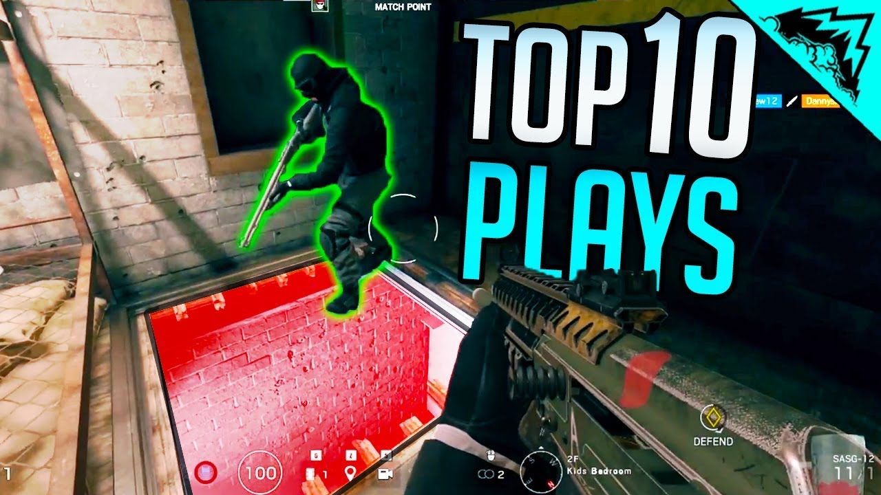 "🔊""AFTER YOU"" - SIEGE TOP 10 PLAYS (Bonus #79)"