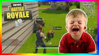 NOT REVIVING TEAMMATES TROLL! (Fortnite Funny Moments)