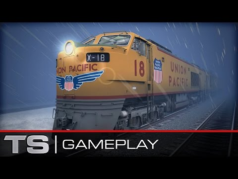 Train Simulator 2016 First Look (Union Pacific Gas Turbine-Electric Gameplay)